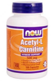 Acetyl L-Carnitine, NOW, 500 mg