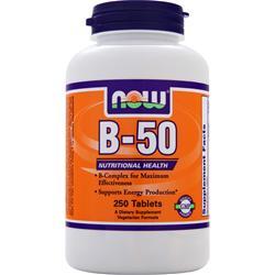 Vitamin B-50 Formel, 250 Kapseln