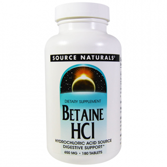 Betain HCl - 650 mg - 180 Tabletten