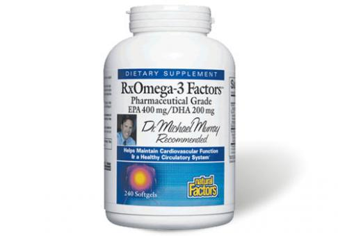 RX Omega-3 Factors Fischöl 120 Softgels