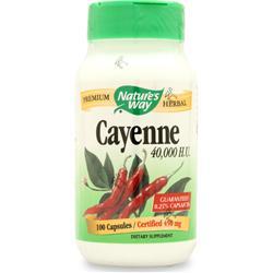 Cayenne Kapseln 450mg, 100 Kapseln