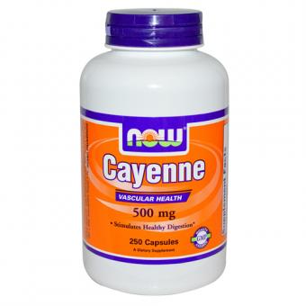 Cayenne 500 mg, 250 Kapseln