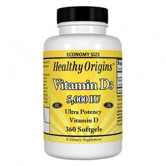 Vitamin D-3 5.000 IE 360 Kapseln