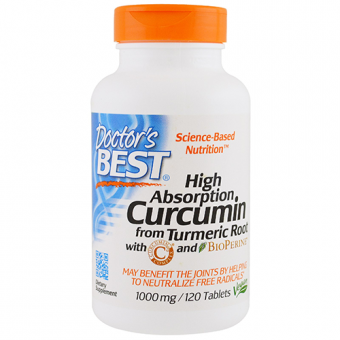 Curcumin-Komplex mit C3 und BioPerin