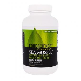 Seemuschel, 180 Kapseln, Foodscience, 50 % Rabatt - MHD 07/20
