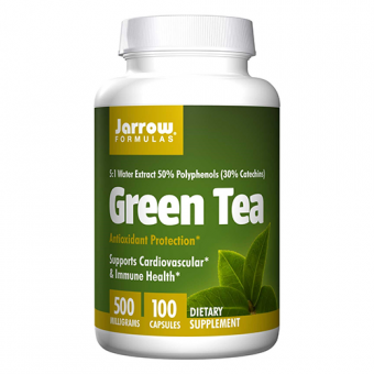 Grüner Tee, 500 mg, 100 Kapseln