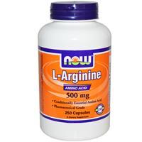 L-Arginin 500 mg, NOW