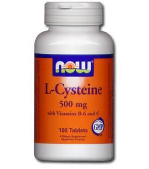 L-Cysteine - Haut, Haare & Nägel, NOW