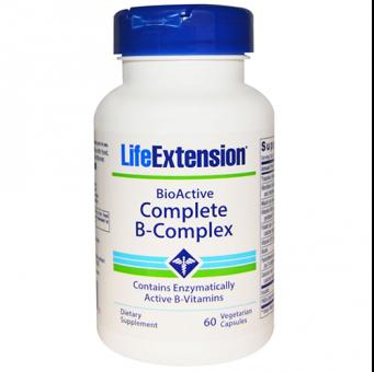 BioActive Complete B-Complex, 60 Veggie-Kapseln, Life Extension