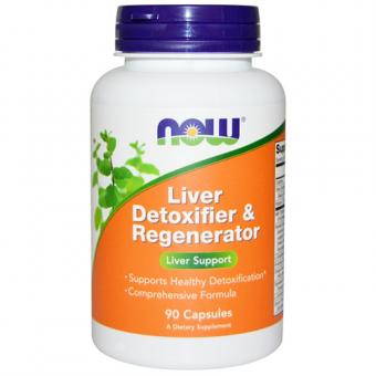 Leber Entgiftung und Regeneration, NOW, 90 veggie Caps