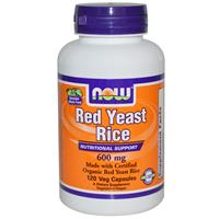Red Yeast Rice - 600 mg - NOW