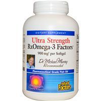RX Omega-3 Factors Ultra Strength 150 Softgels