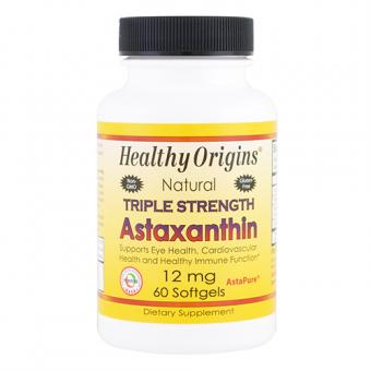 Natürliches Astaxanthin in dreifacher Stärke