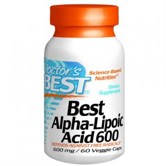 Alpha Liponsäure, Dr.Best, 600 mg, 60 Kapseln,
