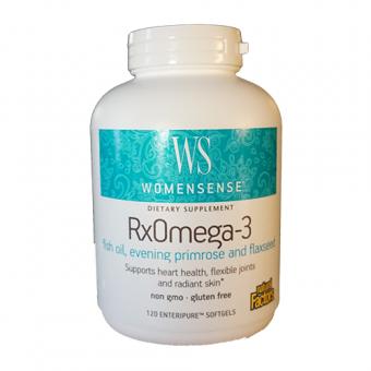 RX Omega-3 WomenSense Fischöl 120 St.